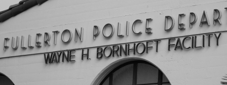 Fullerton Police Dept BW