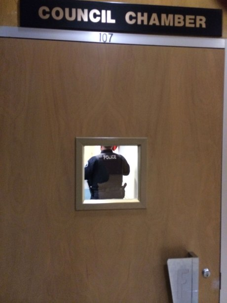Police-Council-Door