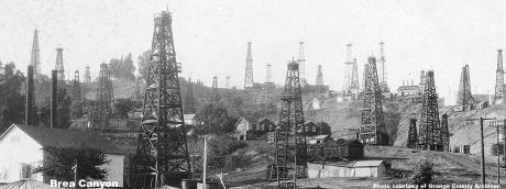Fracking Historial Oil Banner