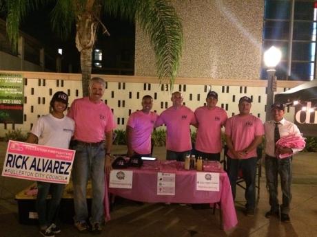 Alvarez Pink Signs