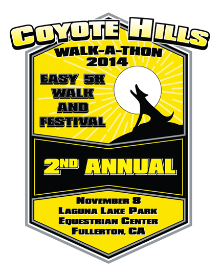 Coyote HIlls Walk 2014 Shirt