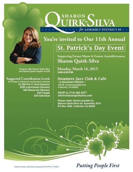 SQS St. Patrick's Day 2015