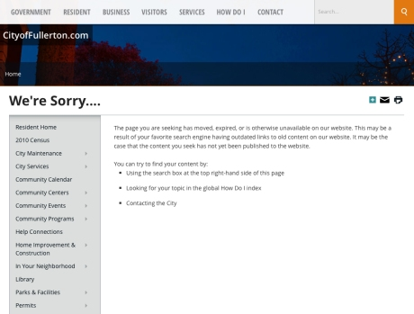 We're sorry we don't use the money you pay us to fix broken links...