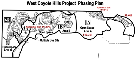 Coyote Hills Phasing Plan