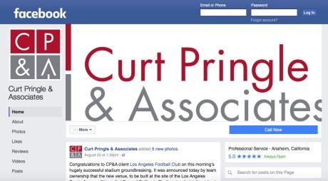 pringle-facebook-page