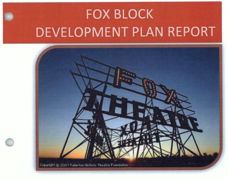 Fox Block Report Cover