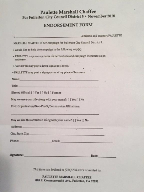 Paulette Chaffee Endorsement Form copy