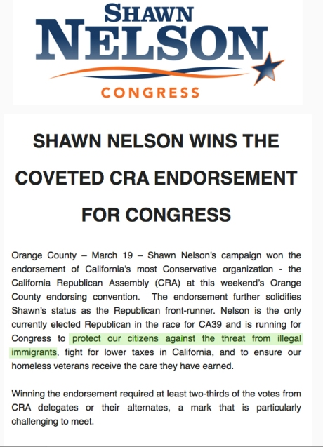 Shawn Nelson Congress Email