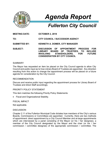 100218 ADM Library Board Appointment Process Agenda Report