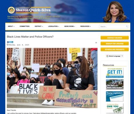 Quirk-Silva BLM Essay